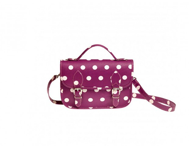 Satchel bag con macro pois