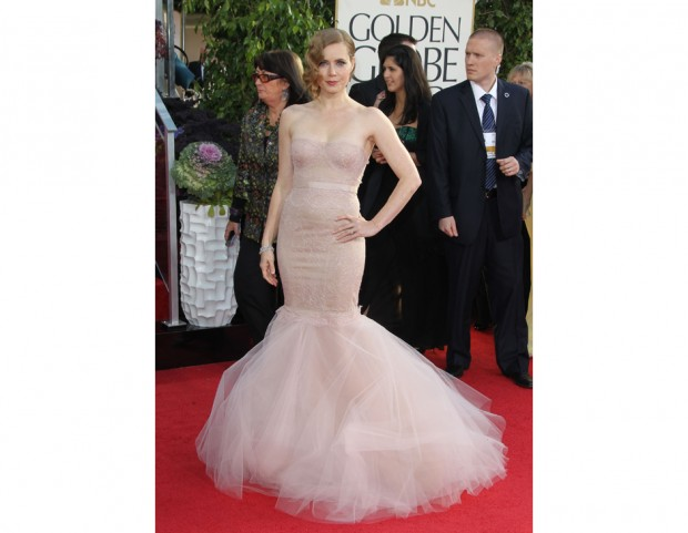 In Marchesa ai Golden Globes 2013
