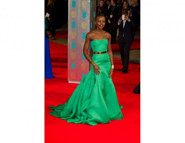 Lupita Nyong'o in Dior Couture