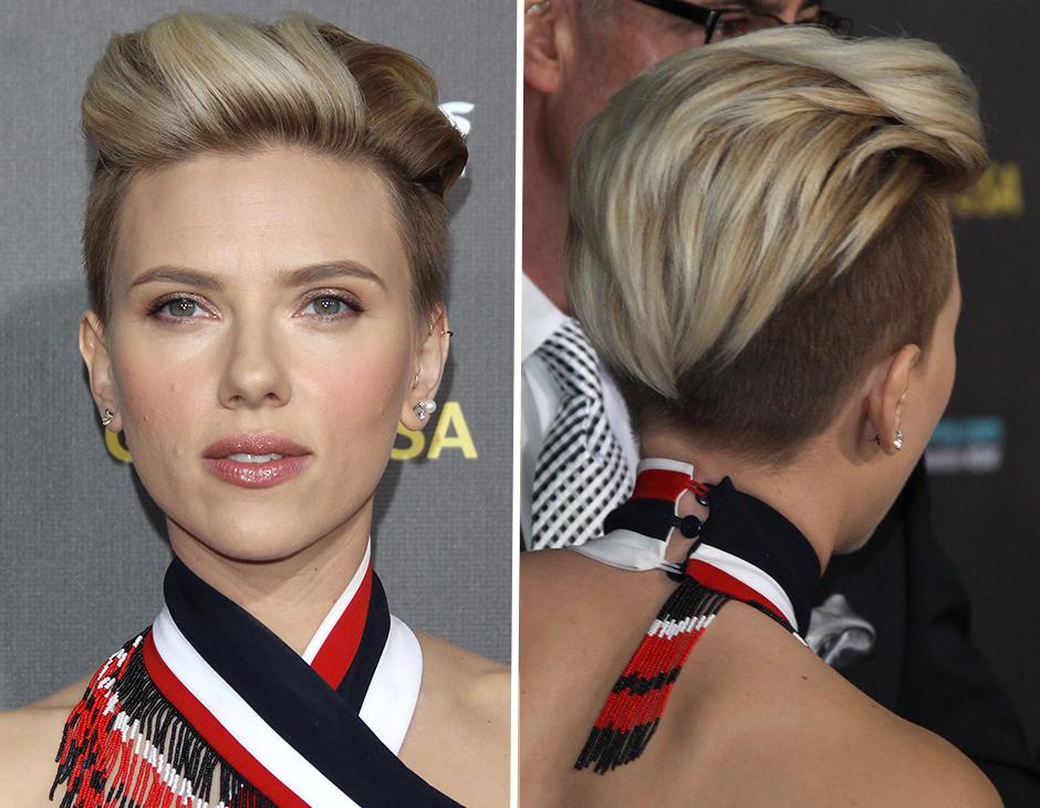 Taglio capelli scarlett johansson 2014