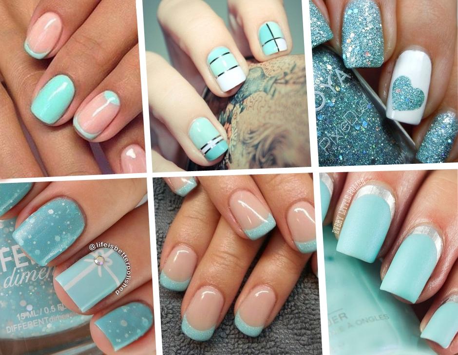 Unghie le manicure color tiffany pi belle di pinterest - Immagini estive a colori ...