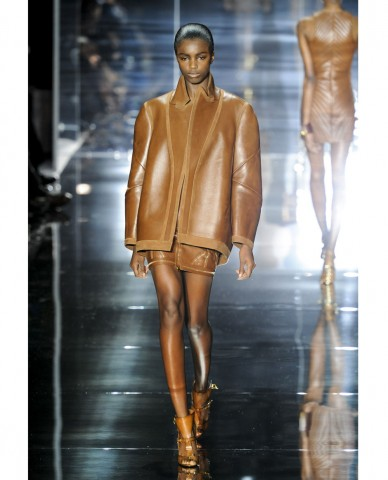 Il total look in pelle di Tom Ford