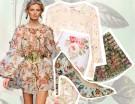 Il trend floreale sulle passerelle primavera-estate 2014
