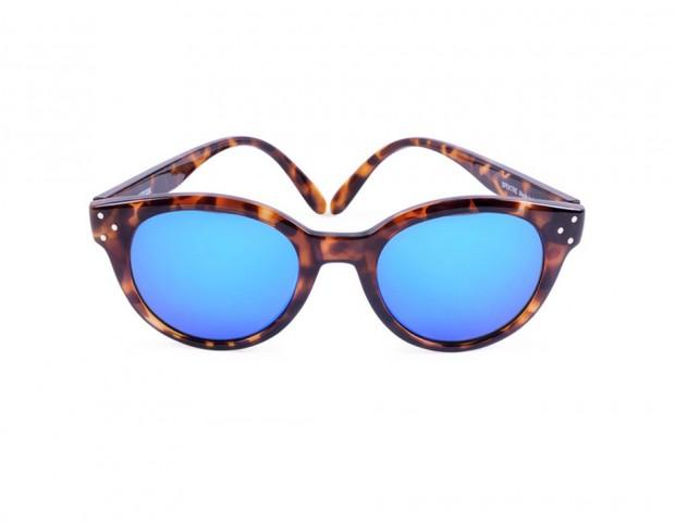 Occhiali da sole tartarugati per la primavera 2014 tu style - Occhiali con lenti a specchio colorate ...