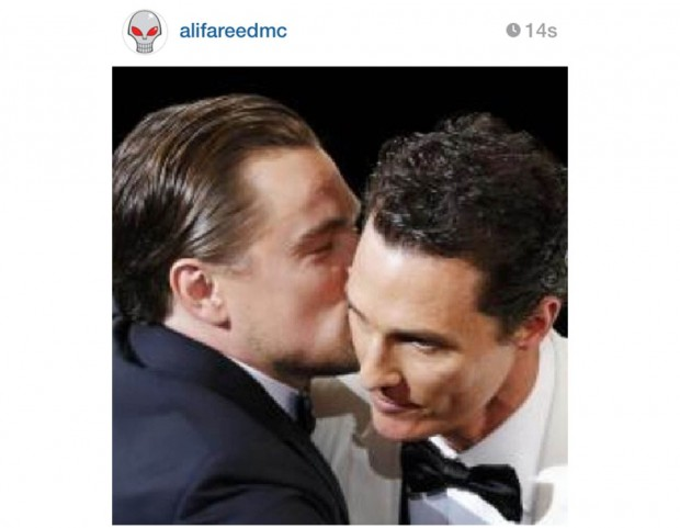 Leonardo di Caprio e Matthew McConaughey