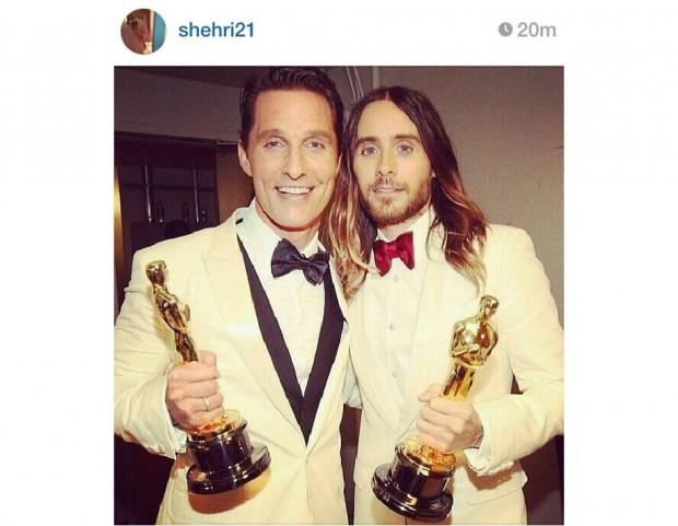 Mathhew McConaughey e Jared Leto