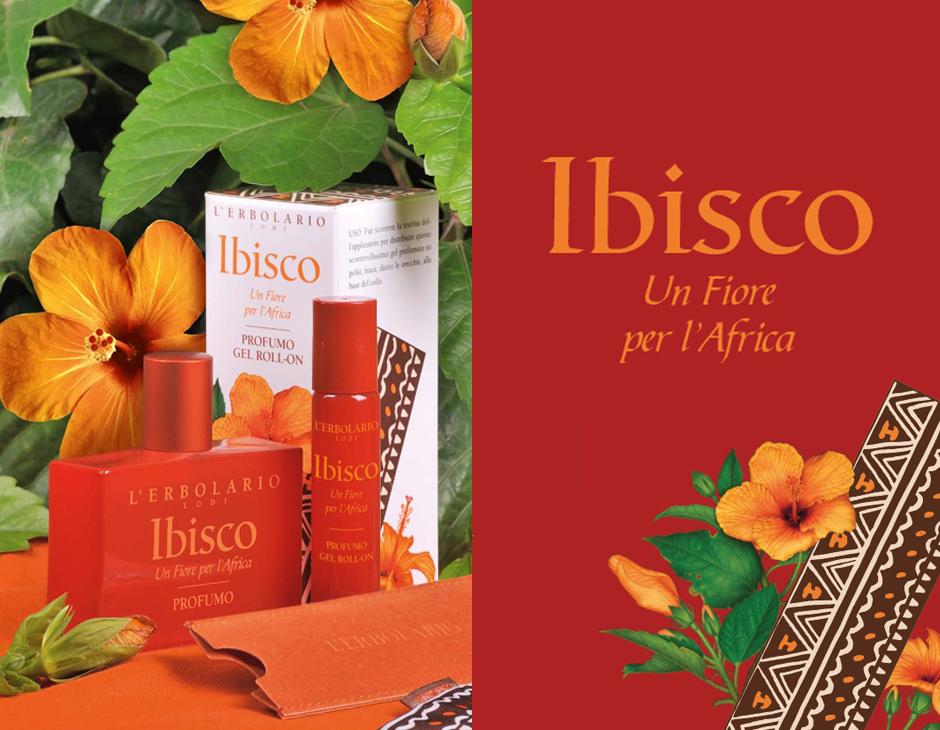 Ibisco, un Fiore per l'Africa: Erbolario e Green Cross