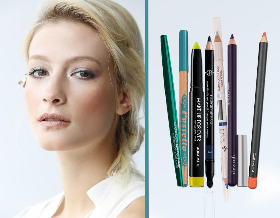 Matite occhi colorate: scegli le migliori per un make up vivace
