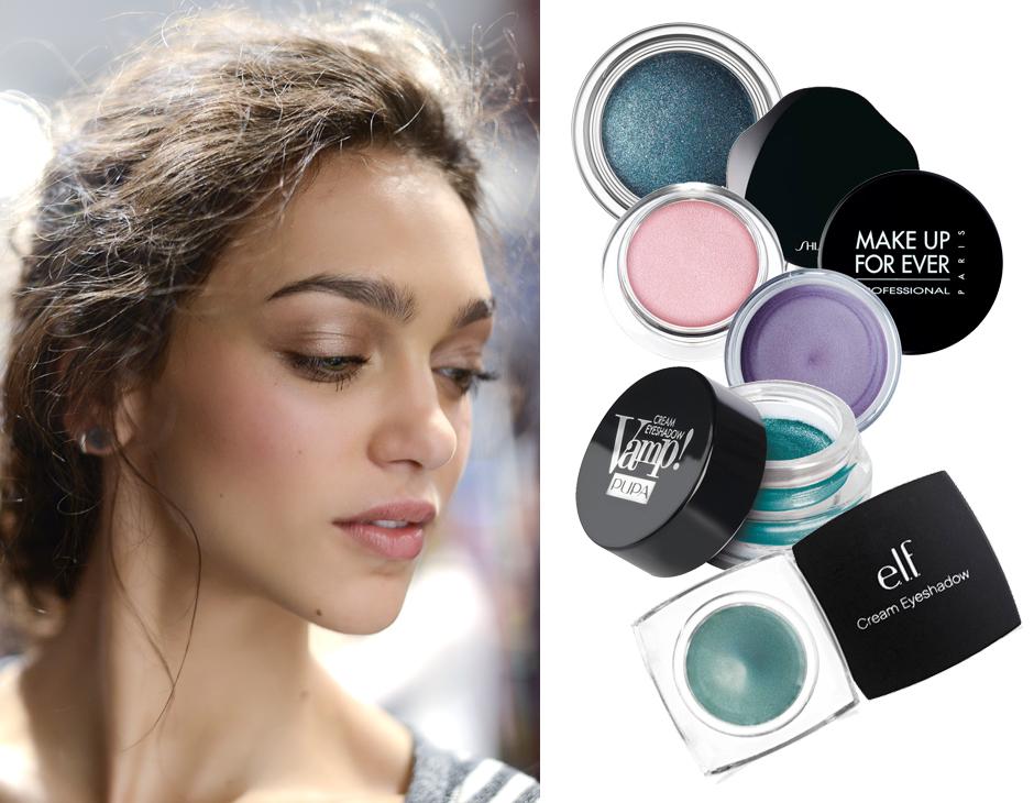 Make up: scegli gli ombretti in crema per un trucco occhi a lunga tenuta