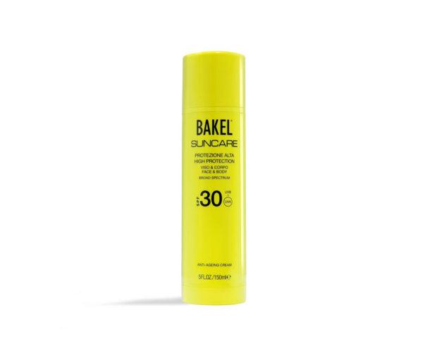 Crema Solare Anti-età viso e corpo protezione alta SPF 30