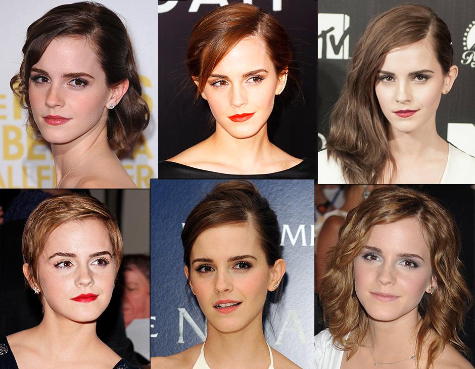 Capelli delle star: Emma Watson e tutti i suoi cambi di hair look