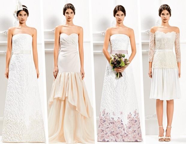 53738682acdd Abiti da sposa Max Mara  pronte per la collezione Bridal 2014-15 ...