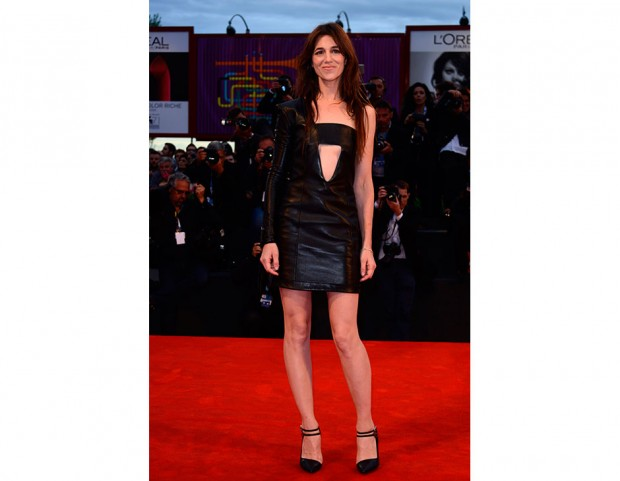 Charlotte Gainsbourg in Anthony Vaccarello