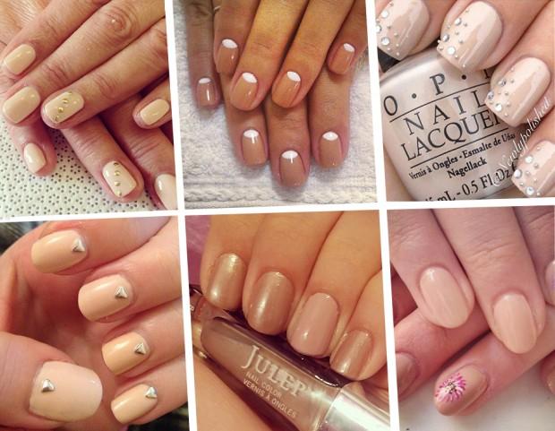 Le manicure color miele da Instagram