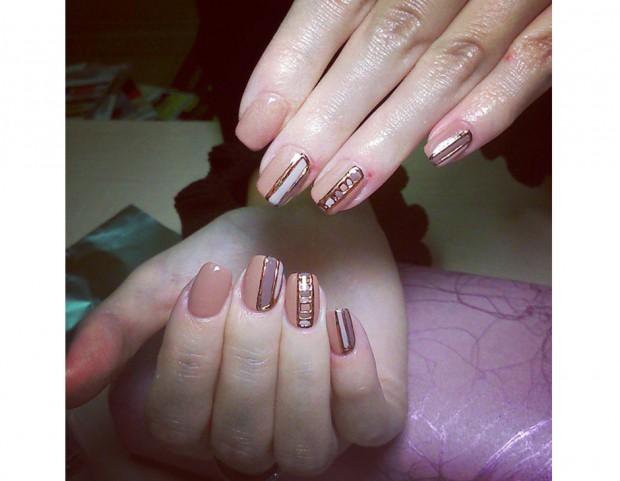 Manicure luminosa