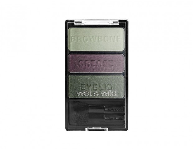 Wet n Wild Color Icon Eyeshadow Trio Cool As A-Cucumber