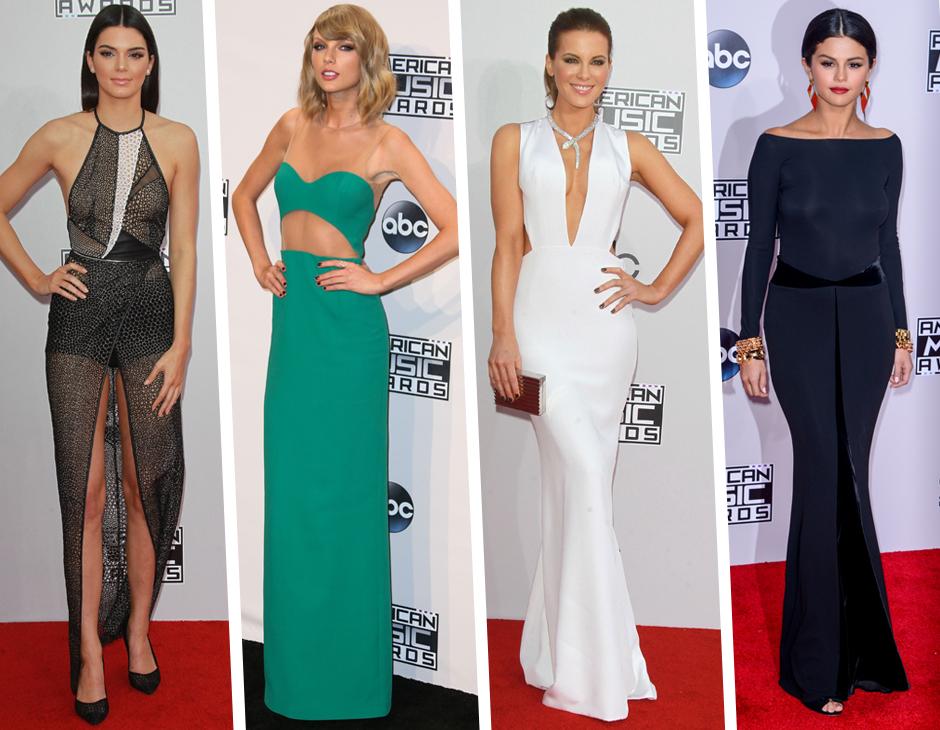 American Music Awards 2014: gli abiti del red carpet