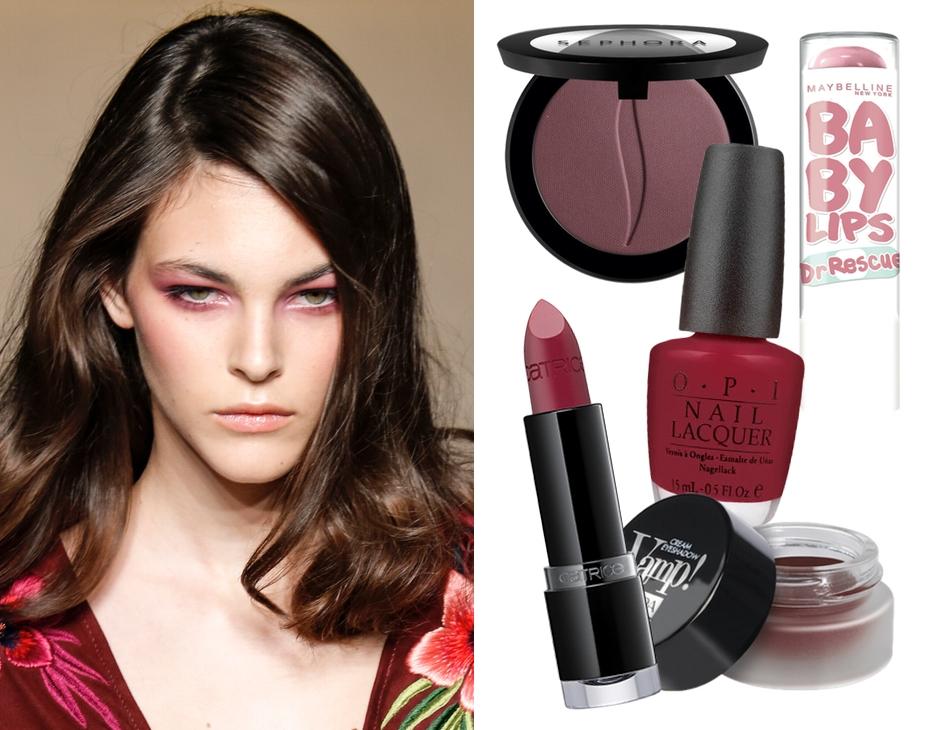 Trucco Marsala: i prodotti per viso, occhi, labbra e mani nel colore Pantone dell'anno