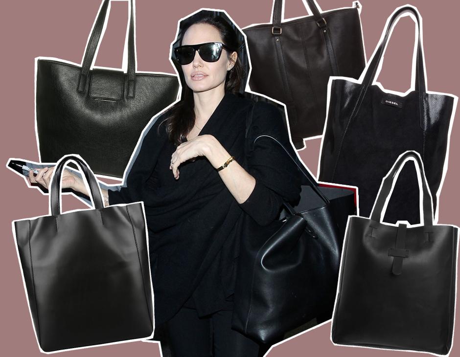 Lo Voglio La Borsa Shopper Nera Di Angelina Jolie Tu Style