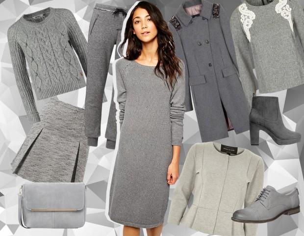 Cinquanta sfumature di grigio… nel tuo armadio! (collage di Antonella  Acquafredda) a1cbd47a0290