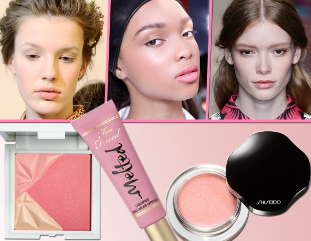 Make up look rosa P/E 2015