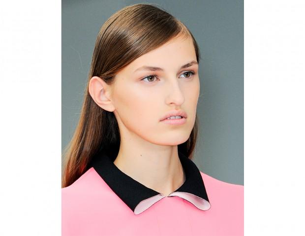 Make up occhi rosa matte sfumato, femminile ed elegante per il giorno