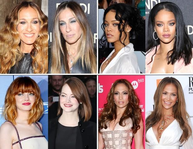 Capelli delle star  tutte le celebrities da ricce a lisce 5f6cc83755e8