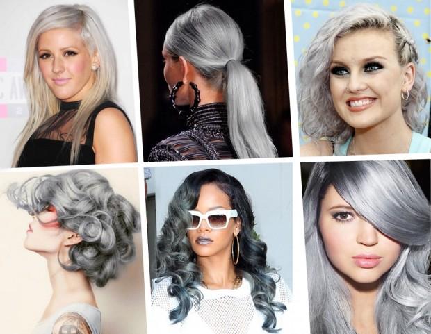 Capelli  il grigio argento è il nuovo colore di tendenza - Tu Style 3163d93c1802