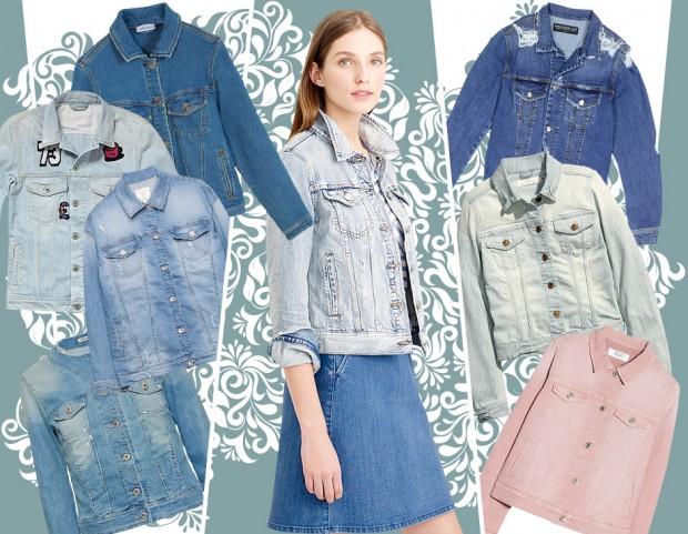 Giacche di jeans  i modelli della p e 2015 (Cover by Antonella Acquafredda) 4c4509827c06