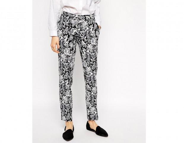 Pantaloni stampati black&white