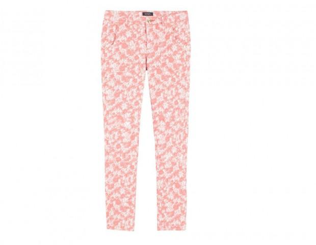 Pantaloni dstretch bicolor
