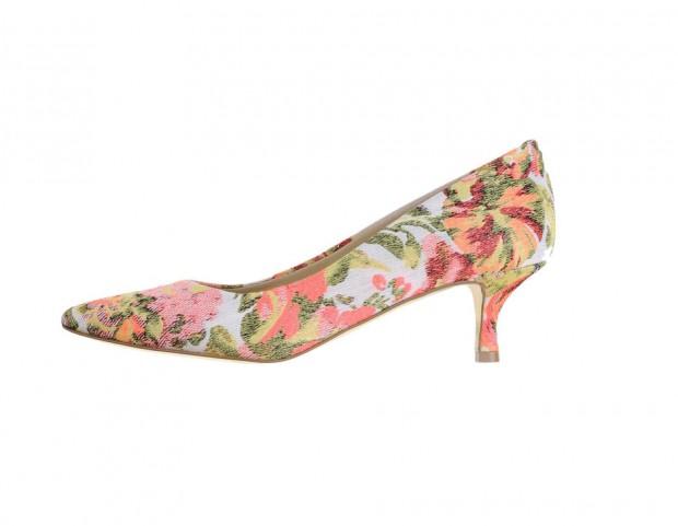 Kitten heels a punta