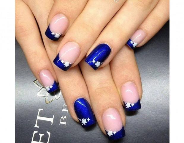 Unghie: le nail art blu più belle da Pinterest - Tu Style