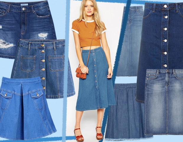 official photos 317ae bd2b9 Gonne in jeans: mini, midi o lunghe, i modelli per l'estate ...