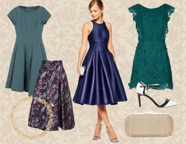 premium selection 73509 c9541 Matrimonio d'autunno: gli abiti perfetti per le invitate ...
