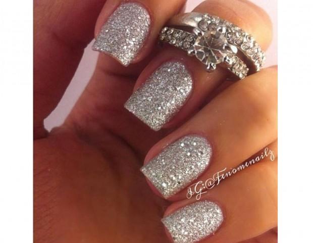 Unghie Le Manicure Oro E Argento Più Belle Da Pinterest Tu Style
