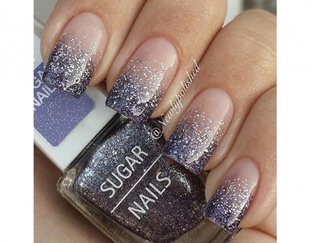 Unghie le nail art con glitter da pinterest tu style for Immagini con i brillantini