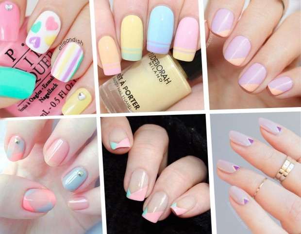 unghie le nail art pastello più belle per la primavera tu style