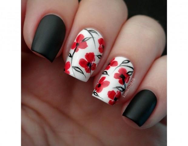 Unghie Le Nail Art Floreali Piu Belle Della Primavera Tu Style