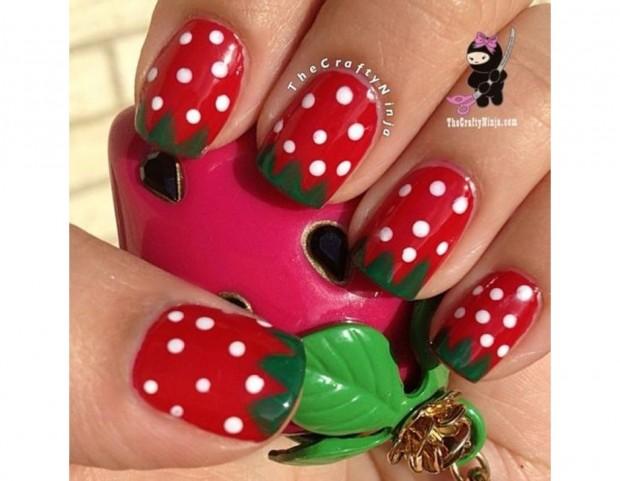Maxi fragole per la nail art