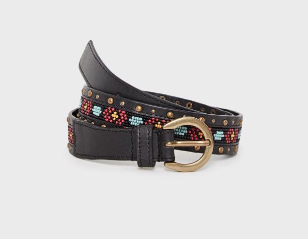 Cintura folk con perline