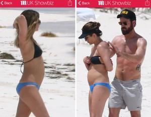 Jennifer Aniston incinta alle Bahamas?