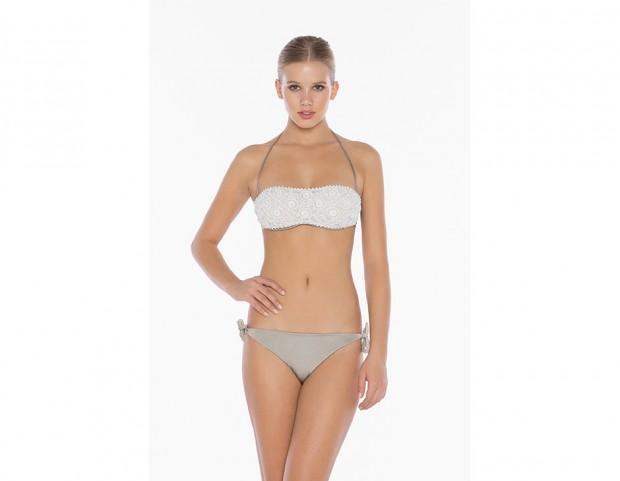 Costumi Da Bagno A Fascia : D bee costume da bagno imbottito a fascia bikini donna mare