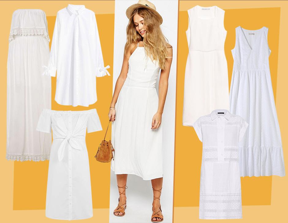 6b1fabaa3d50 Donano un tocco fresco e luminoso al tuo look e fanno risaltare alla  perfezione l'abbronzatura: stiamo parlando degli abiti bianchi,  protagonisti assoluti ...