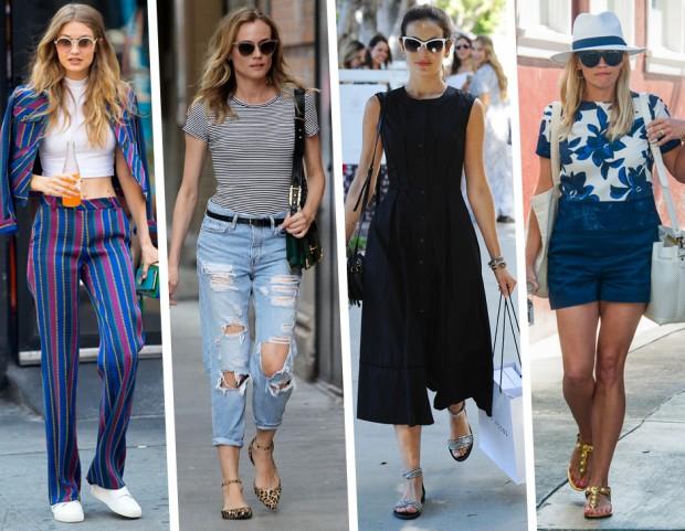 huge selection of d9136 44696 Look da star: 20 outfit perfetti per l'estate in città (e ...