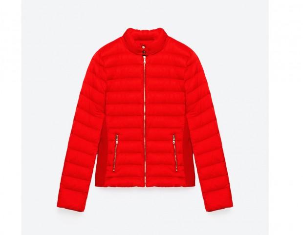 Il piumino rosso antinebbia - Tu Style