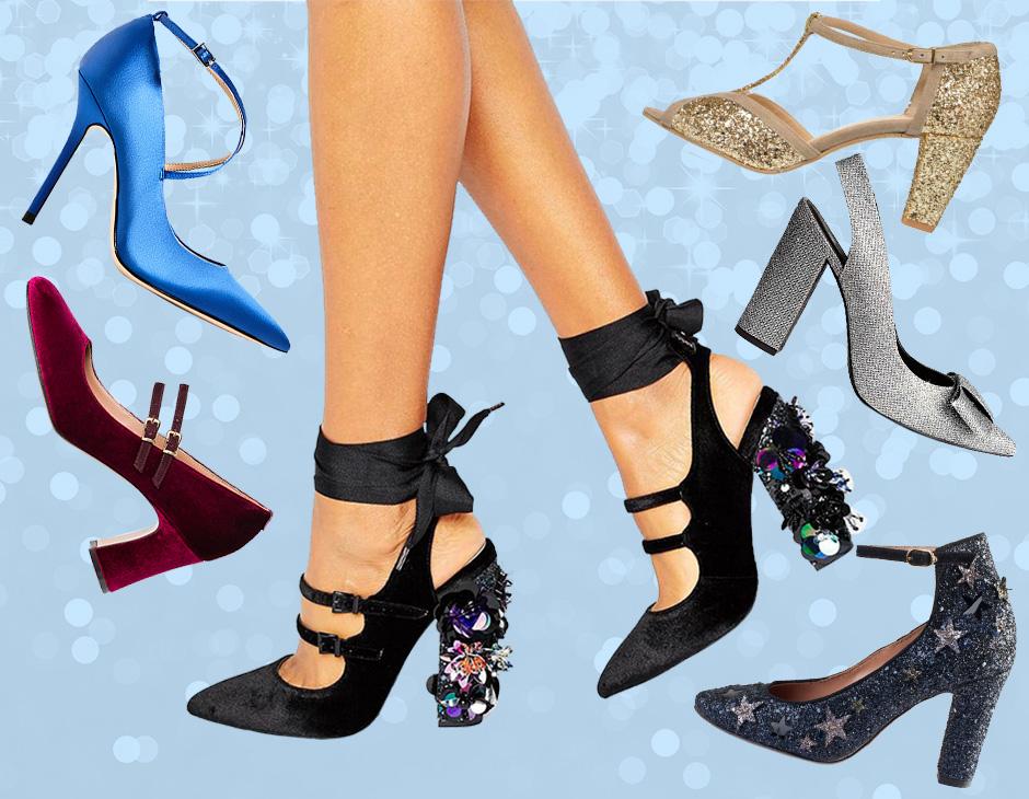 Strass velluto paillettes ecco le scarpe più glam per le feste