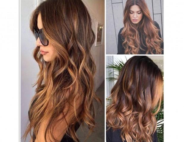 Colore capelli riflessi rame