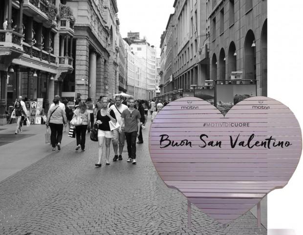 San Valentino  fai una foto sulla panchina di Motivi - Tu Style 11caae55853