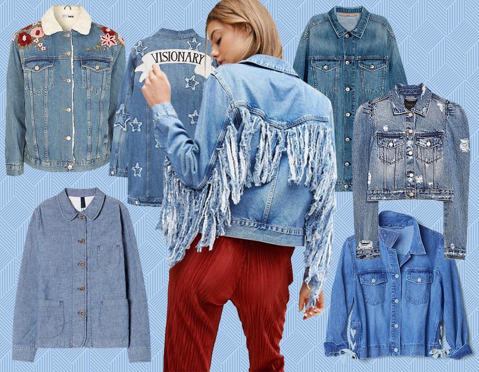Giacche di jeans  15 modelli top da acquistare per la Primavera - Tu ... 75e663cd6562